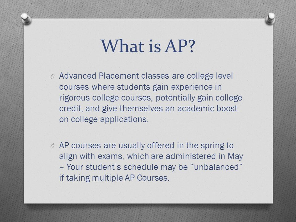 What's the difference between AP and Honors.