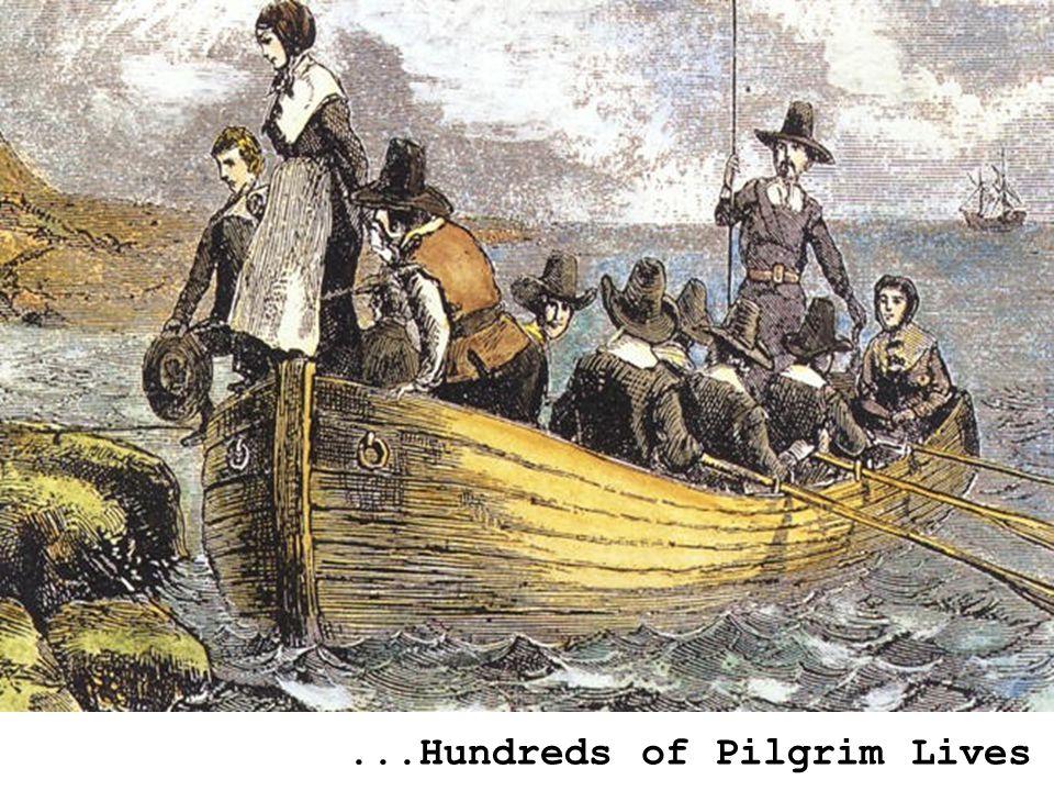 ...Hundreds of Pilgrim Lives