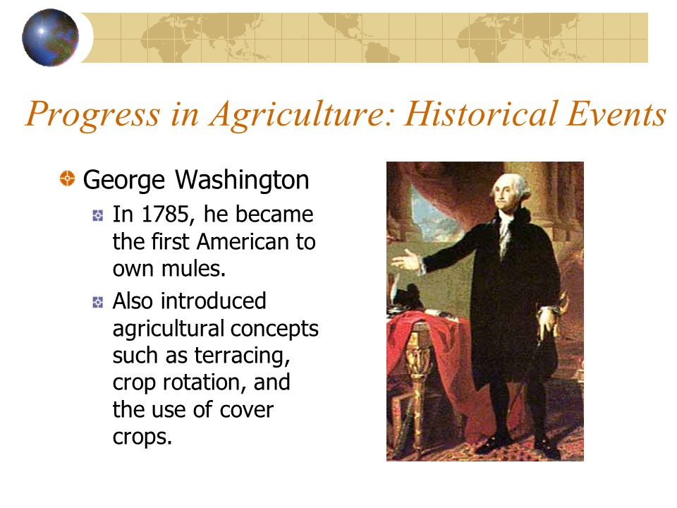 "Progress in Agriculture Mechanization helps 2% of America's work force to meet the food & fiber needs of our nation. (2% of US population works ""on th"