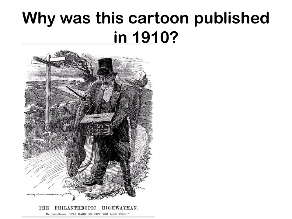 Why was this cartoon published in 1910