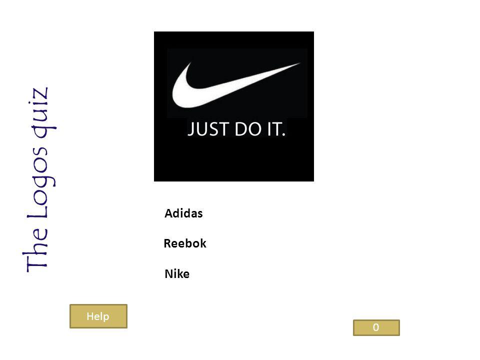 The Logos quiz Nike Reebok Adidas 0 Help