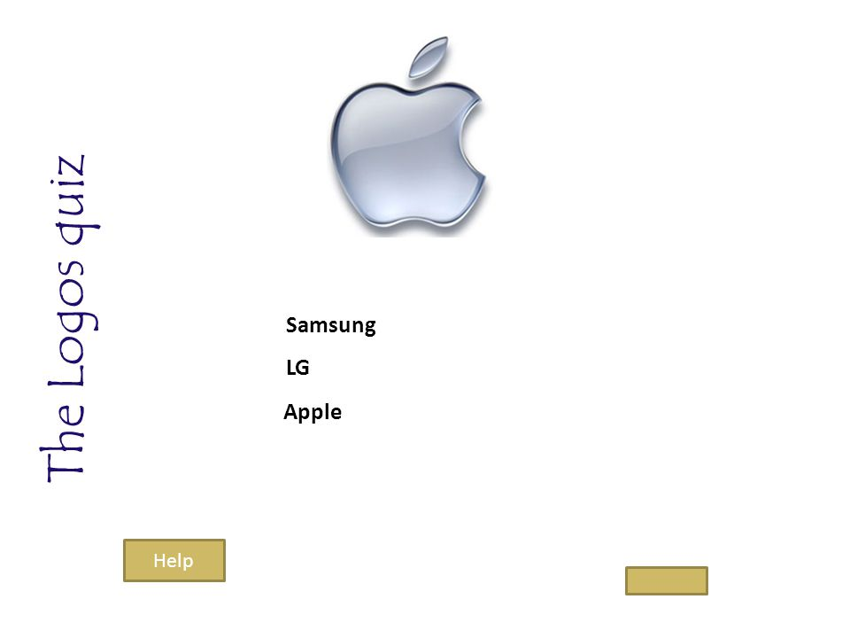 The Logos quiz Samsung LG Apple Help