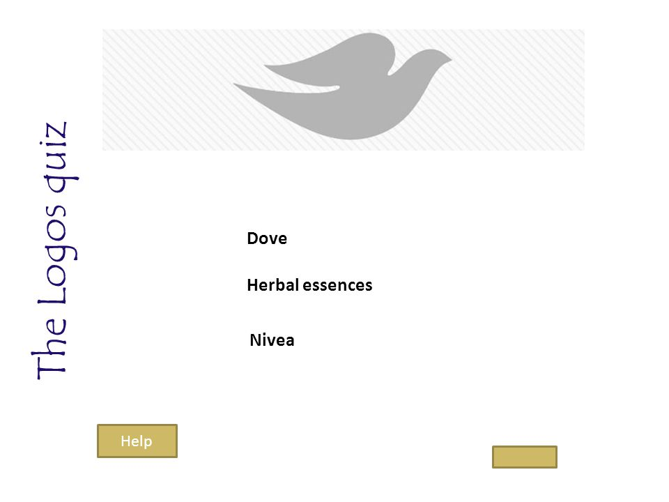 The Logos quiz Dove Herbal essences Nivea Help