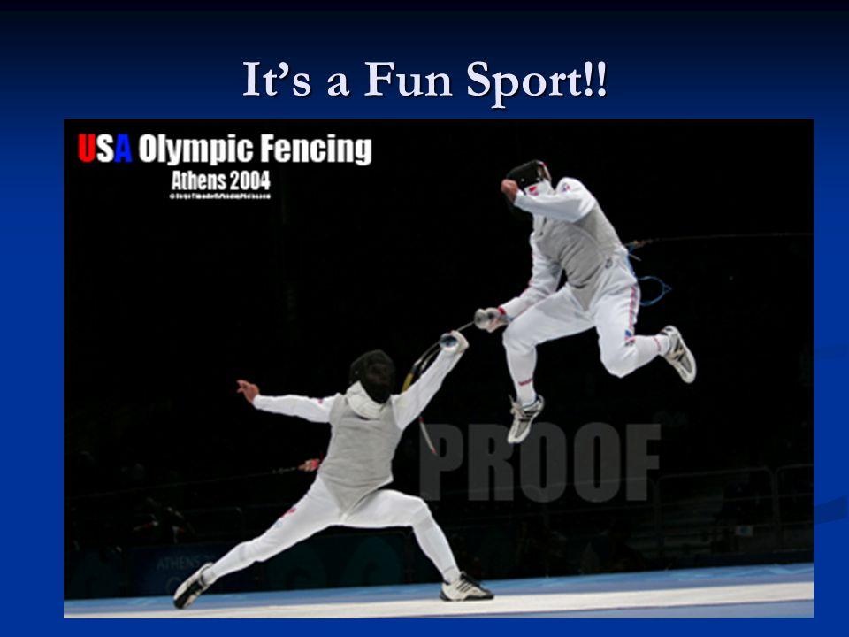 It's a Fun Sport!!