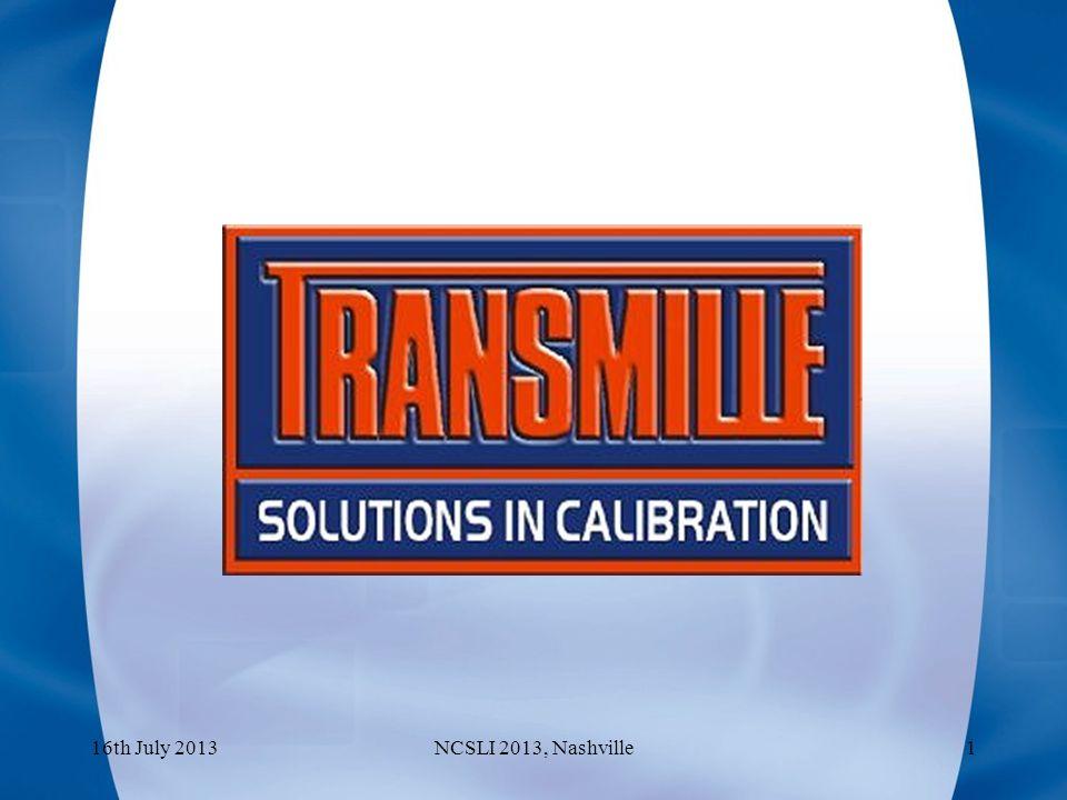 The Design of a Calculable AC voltage reference using digital waveform generation 16th July 2013NCSLI 2013, Nashville2