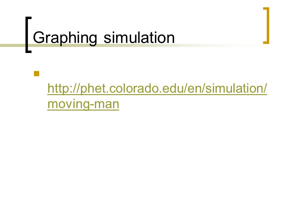 Graphing simulation   moving-man   moving-man