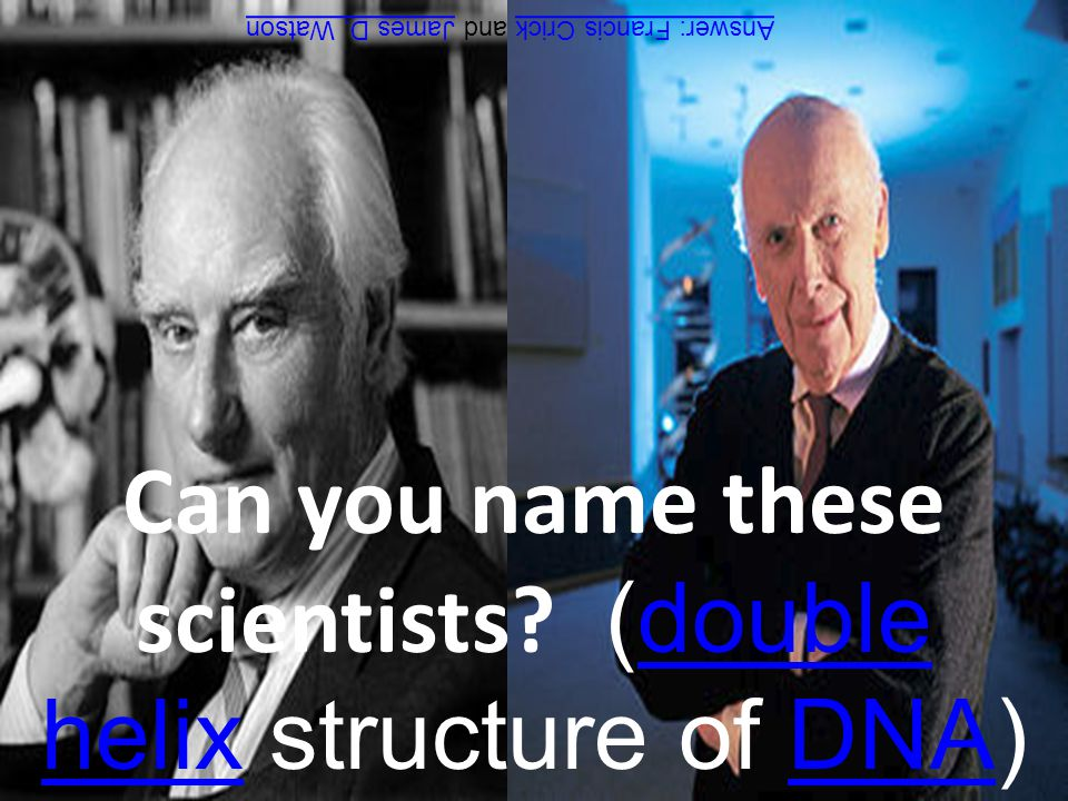 Can you name these scientists.