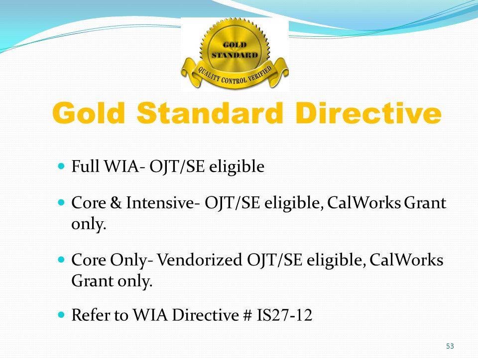 Full-WIA CalWORKs Enrollment Co-enrollment into grant 201 & 905 Grant 201: Activity code (JTA)- 15, 30, 32, 55 Grant 905 : Activity code- 42, 60 54