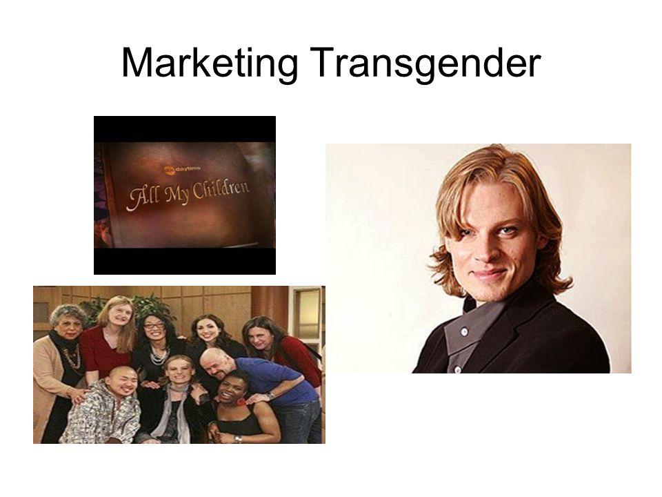 Marketing Transgender