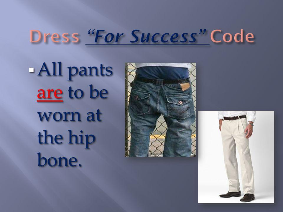  Khaki or Black bermuda/ walking shorts, slacks, skorts, skirts, capris, skirted jumpers, or blue jeans of knee length or longer