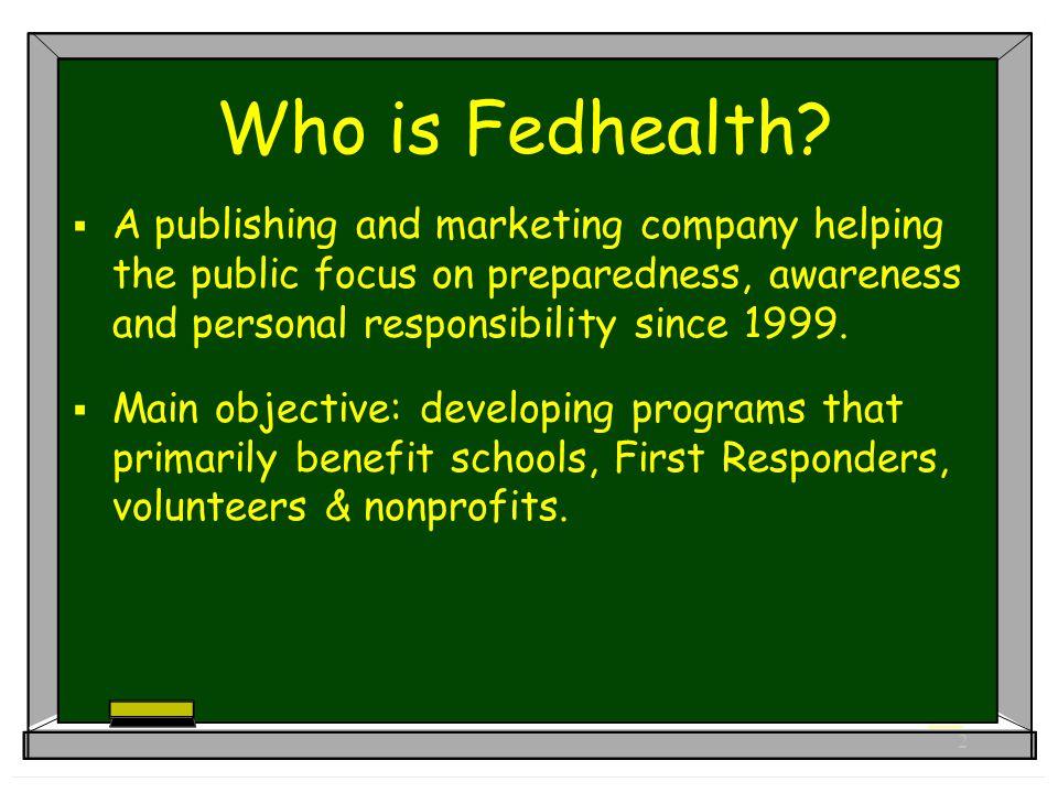 2 Who is Fedhealth.