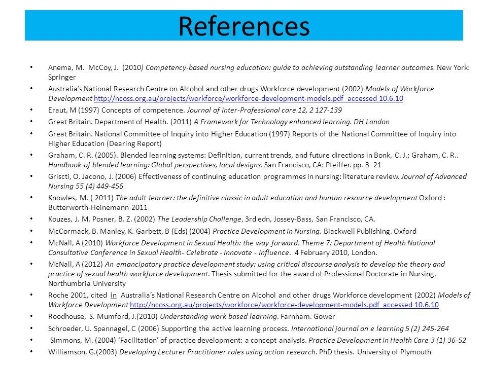 References Anema, M.McCoy, J.