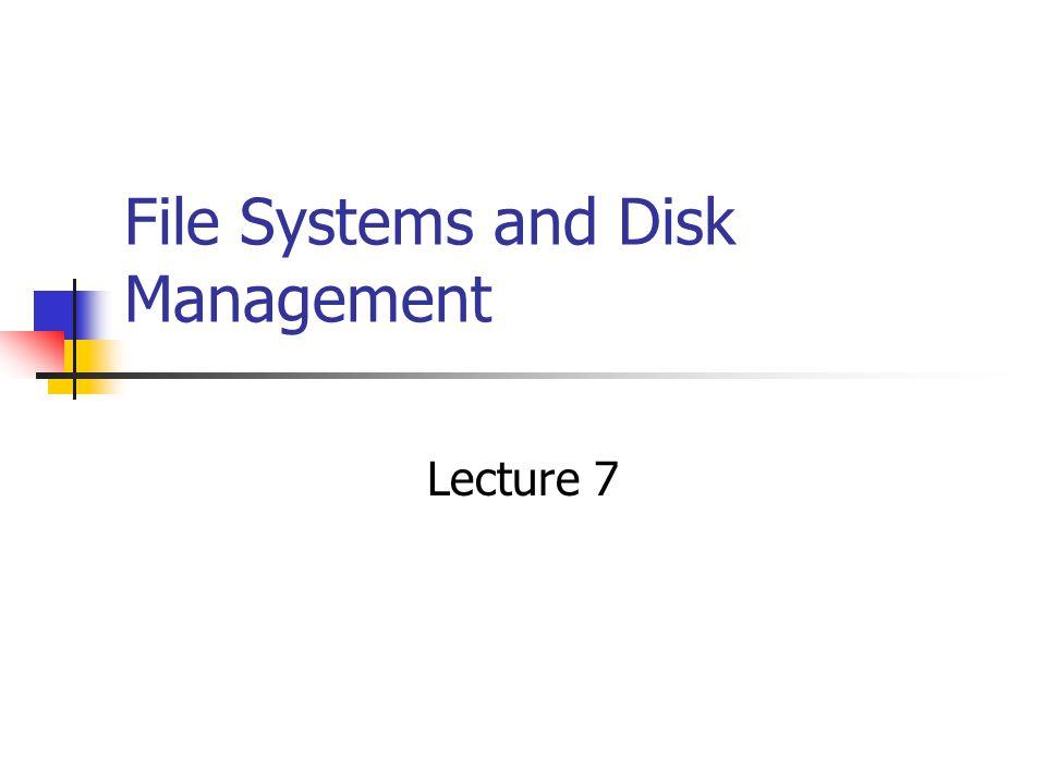 File Systems FAT/FAT32 NTFS FAT or NTFS? Microsoft FAT vs NTFS