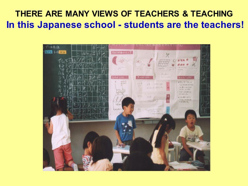 IMPROVING THE TEACHER IMAGE.