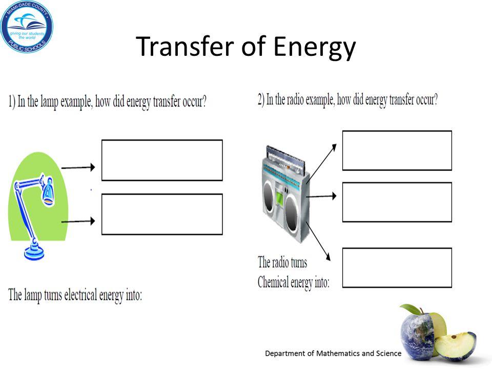 Transfer of Energy A. B. A. B. C.