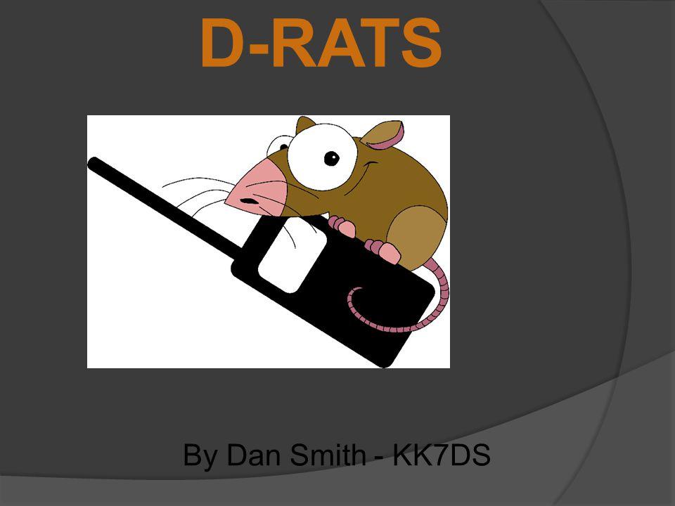 D-RATS By Dan Smith - KK7DS