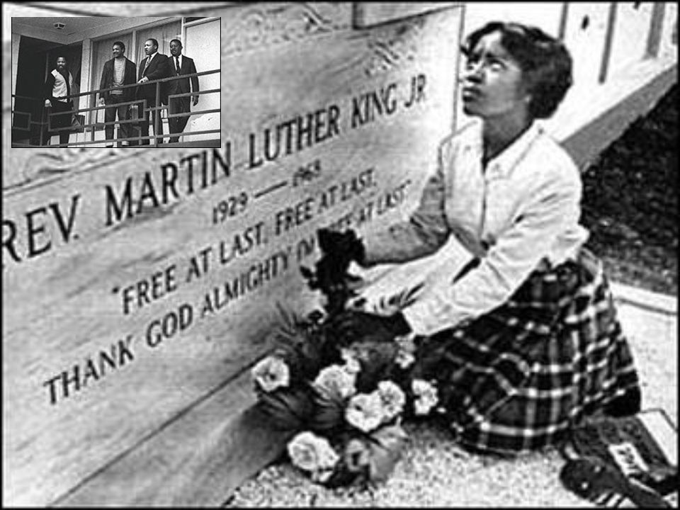 Lorraine Hotel Memphis, Tennesee April 4, 1968, the Rev. Martin Luther King, Jr., was assassinated.