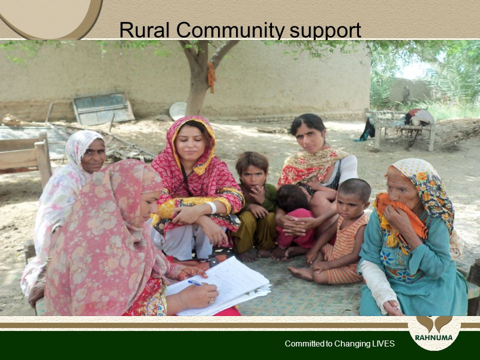 Committed to Changing LIVES Rural Community support