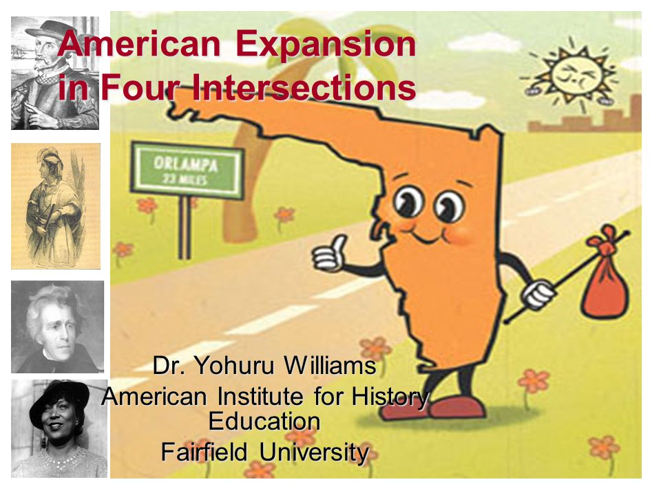 American Expansion in Four Intersections Dr.