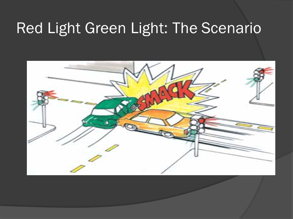 Red Light Green Light: The Scenario