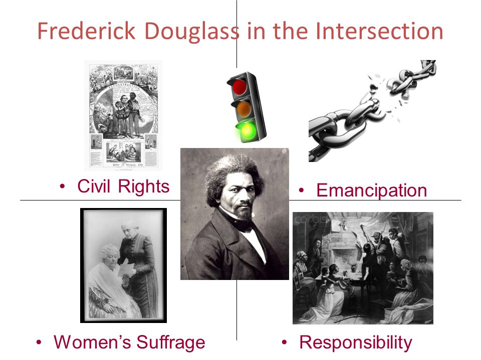 Frederick Douglass in the Intersection Women's SuffrageResponsibility Civil Rights Emancipation