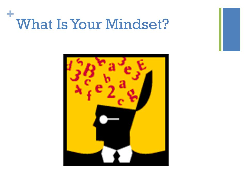 + What Is Your Mindset?