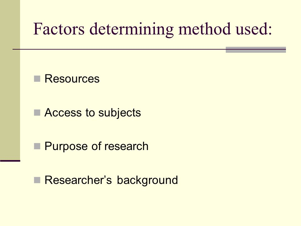 Impact of Gender on Research Gender can be a significant factor in social research and sociologists need to take careful steps to prevent gender differences from biasing their findings.