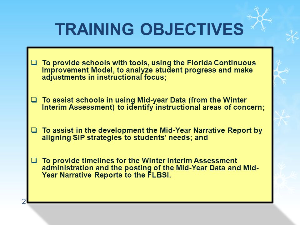 33 2.Describe the specific strategies or school improvement activities that have contributed to increases in student achievement percentage points between the baseline and mid-year assessments.