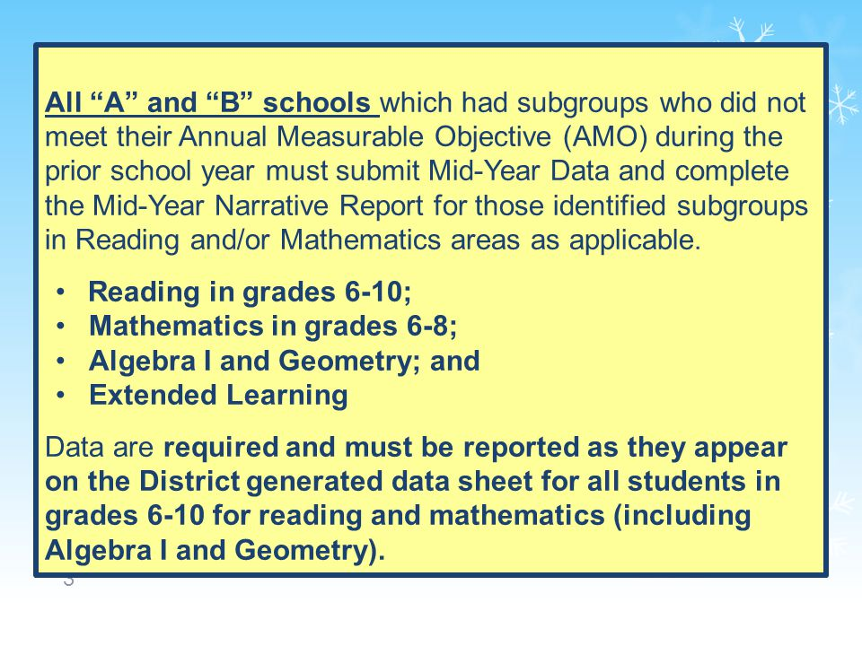 24 Changes in the instructional focus will be through analysis of student performance data.