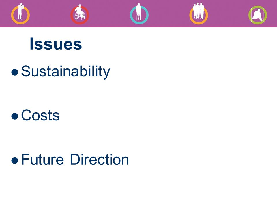 Issues Sustainability Costs Future Direction