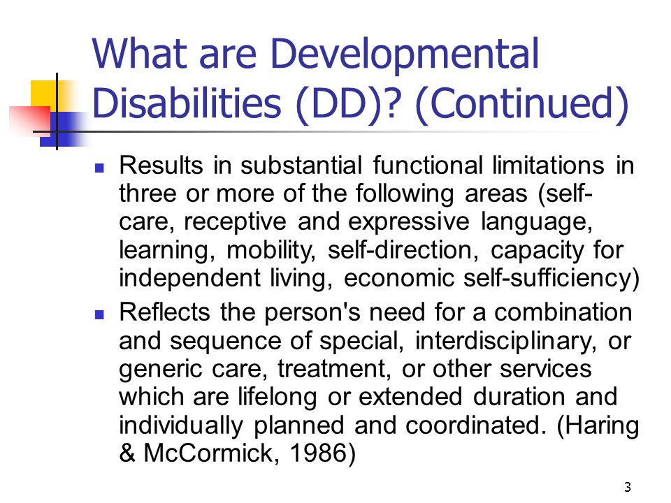 4 How Prevalent are Developmental Disabilities.About 17% of U.S.