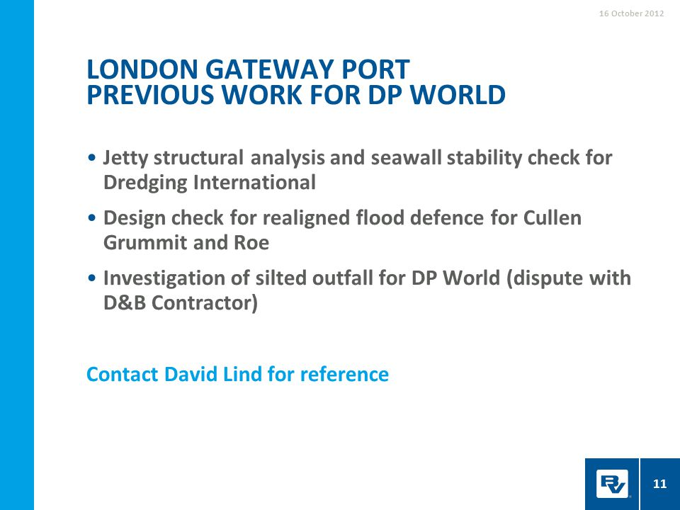 Jetty structural analysis and seawall stability check for Dredging International Design check for realigned flood defence for Cullen Grummit and Roe I