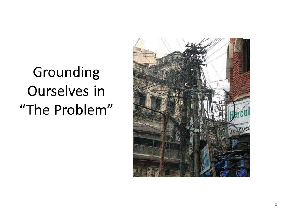 "Grounding Ourselves in ""The Problem"" 8"