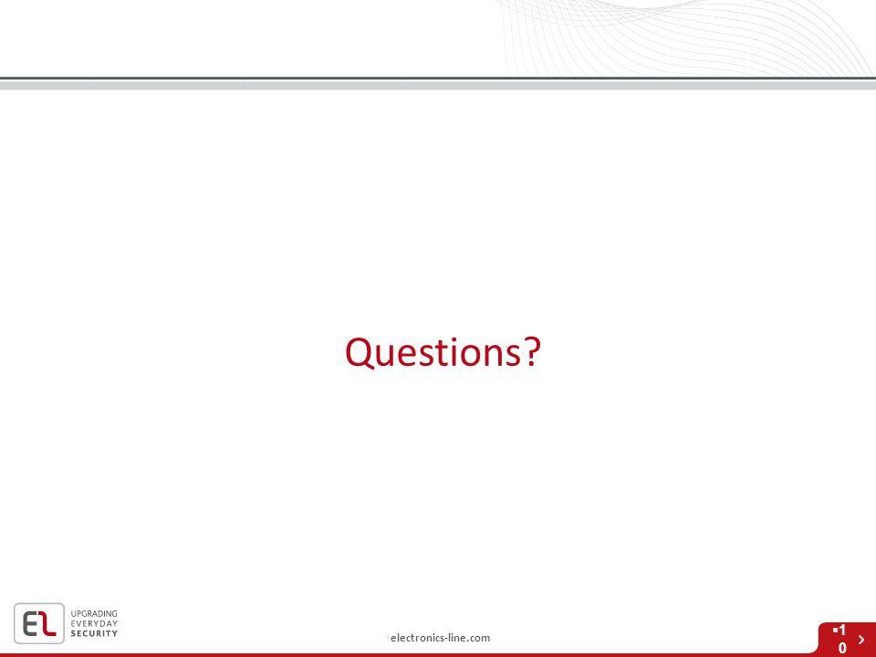  electronics-line.com Questions  1010