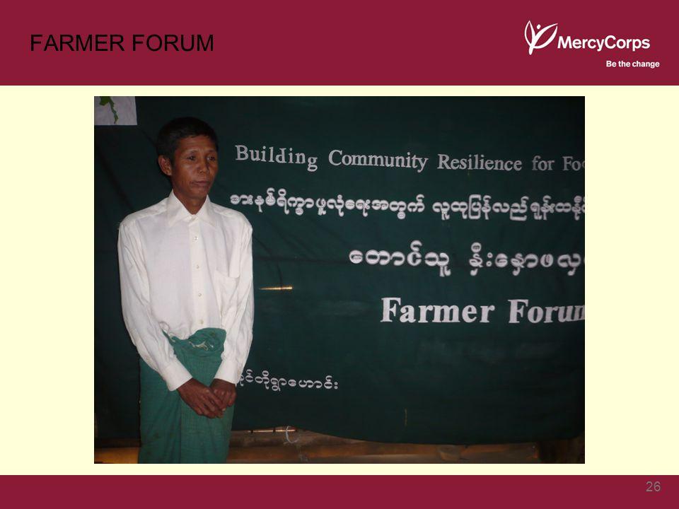 FARMER FORUM 26