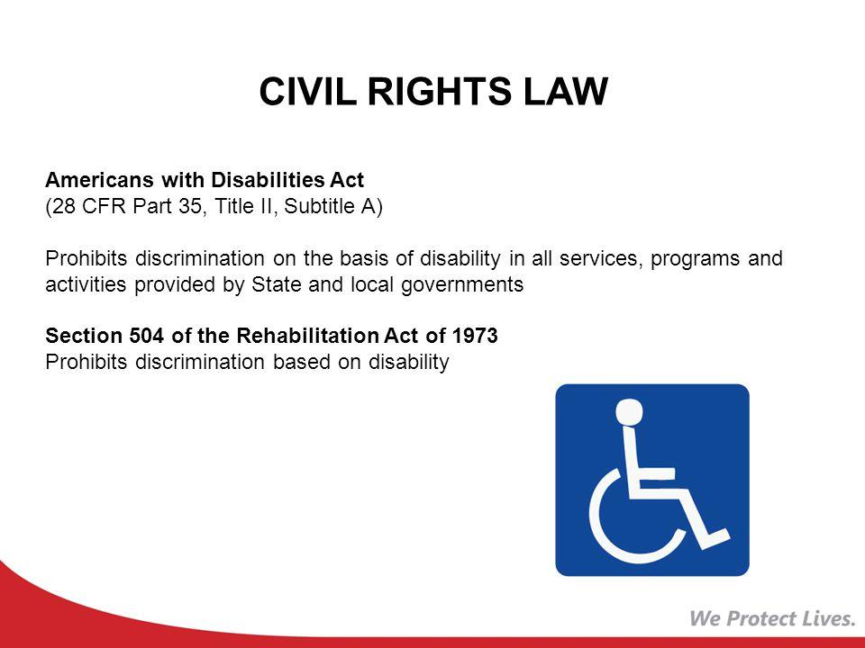 CIVIL RIGHTS LAW Title IX of the Education Amendment of 1972 (20 U.S.C.