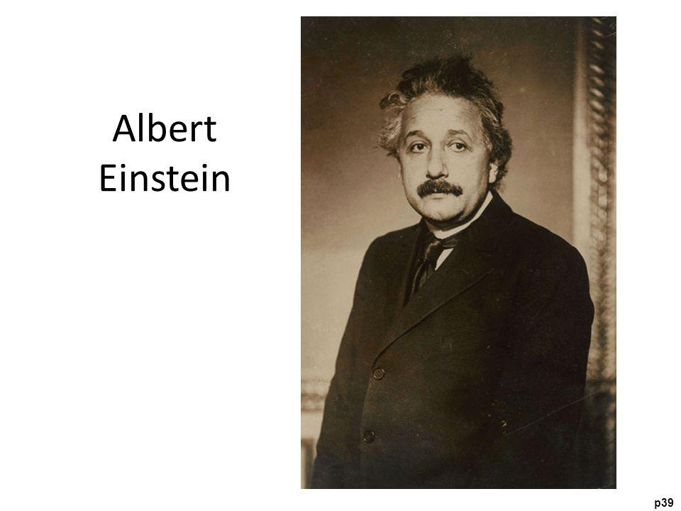 p39 Albert Einstein
