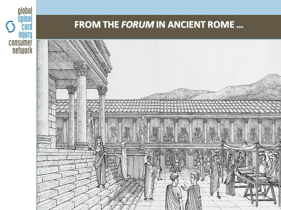 FROM THE FORUM IN ANCIENT ROME … Istanbul, 2013