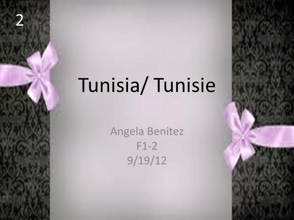 Tunisia/ Tunisie Angela Benitez F1-2 9/19/12 2