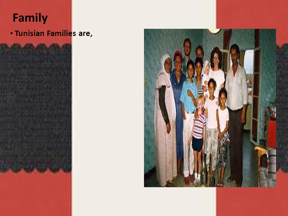 Family Tunisian Families are, Google pictures