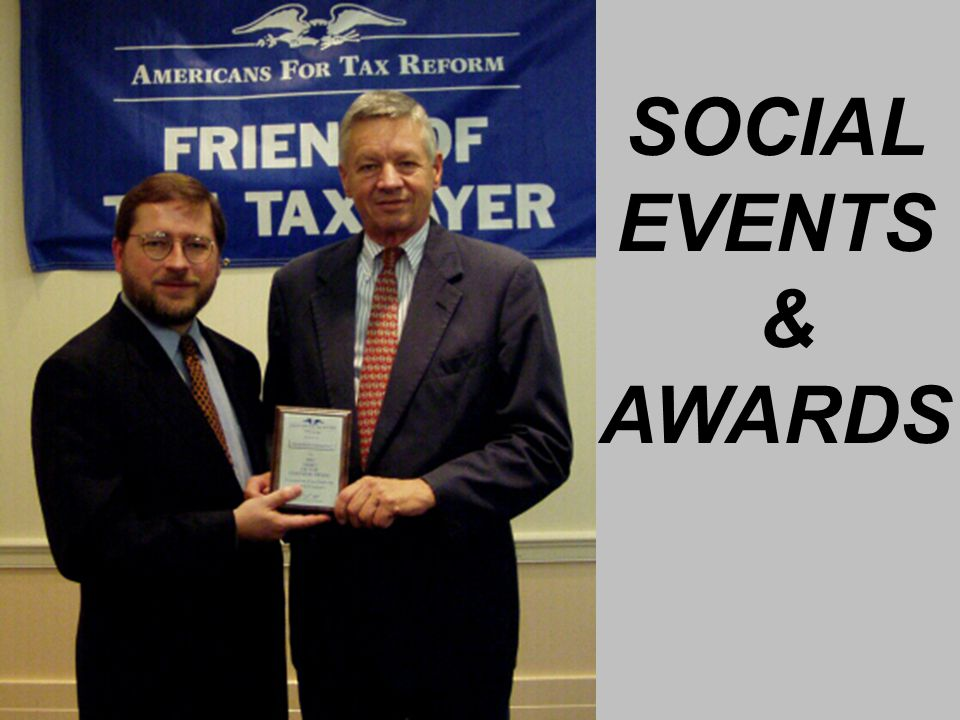 SOCIAL EVENTS & AWARDS