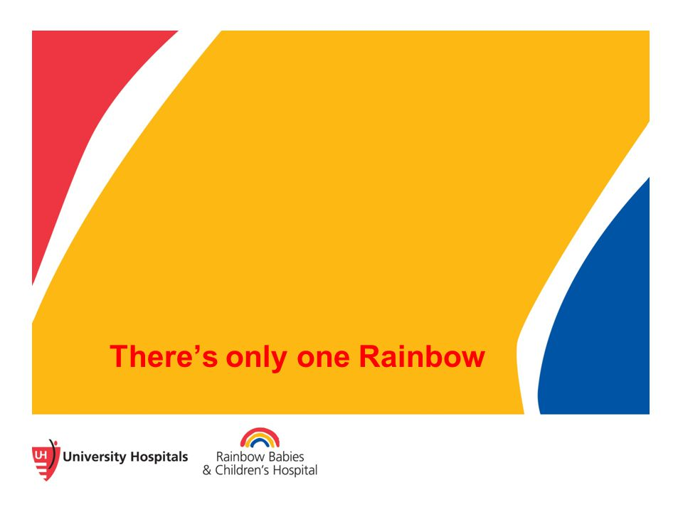 There's only one Rainbow