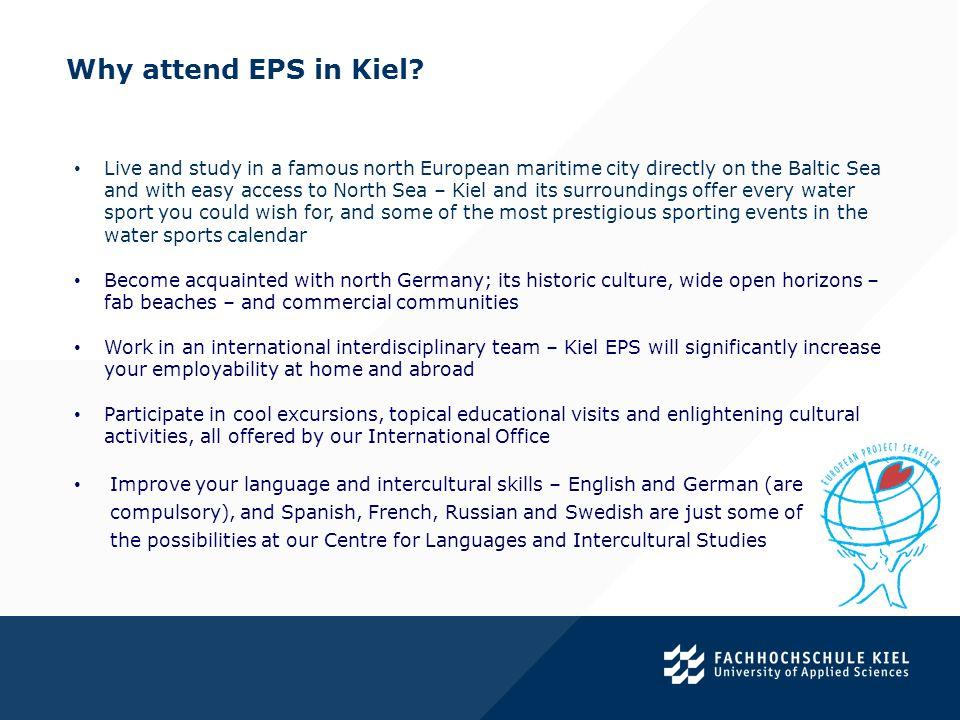 Academic backgrounds of Kiel EPS participants.