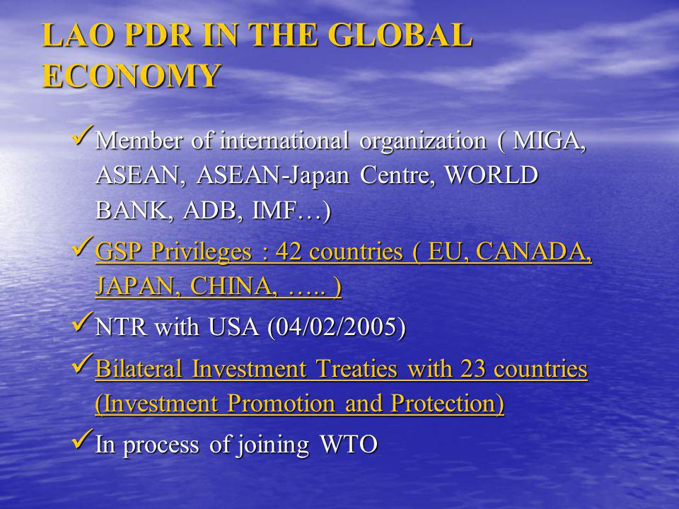 POTENTIAL SECTORS  Energy  Mining  Agribusiness  Tourism  Construction Material  Light industry  Service