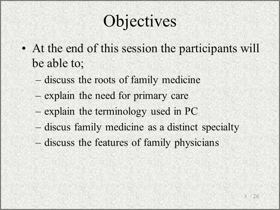/ 264 What names and terms are used related with family medicine.