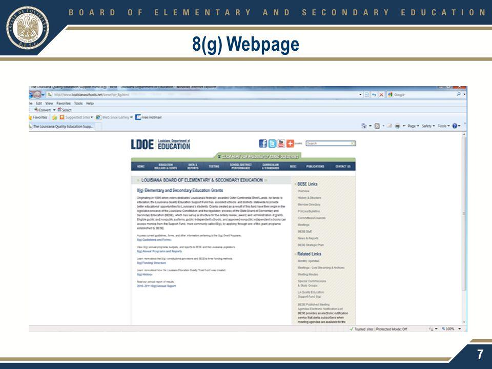 8(g) Webpage 7