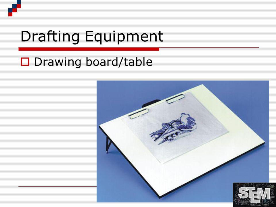 Drafting Equipment - Pencils  Mechanical  Lead Holders  Wooden