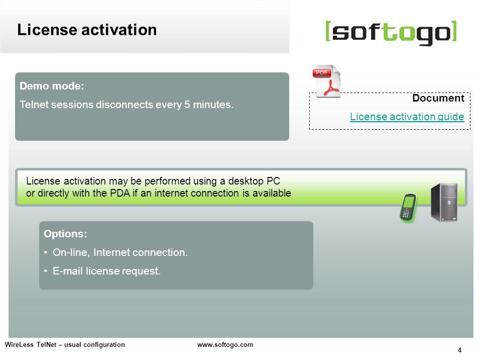 5 WireLess TelNet – usual configuration www.softogo.com