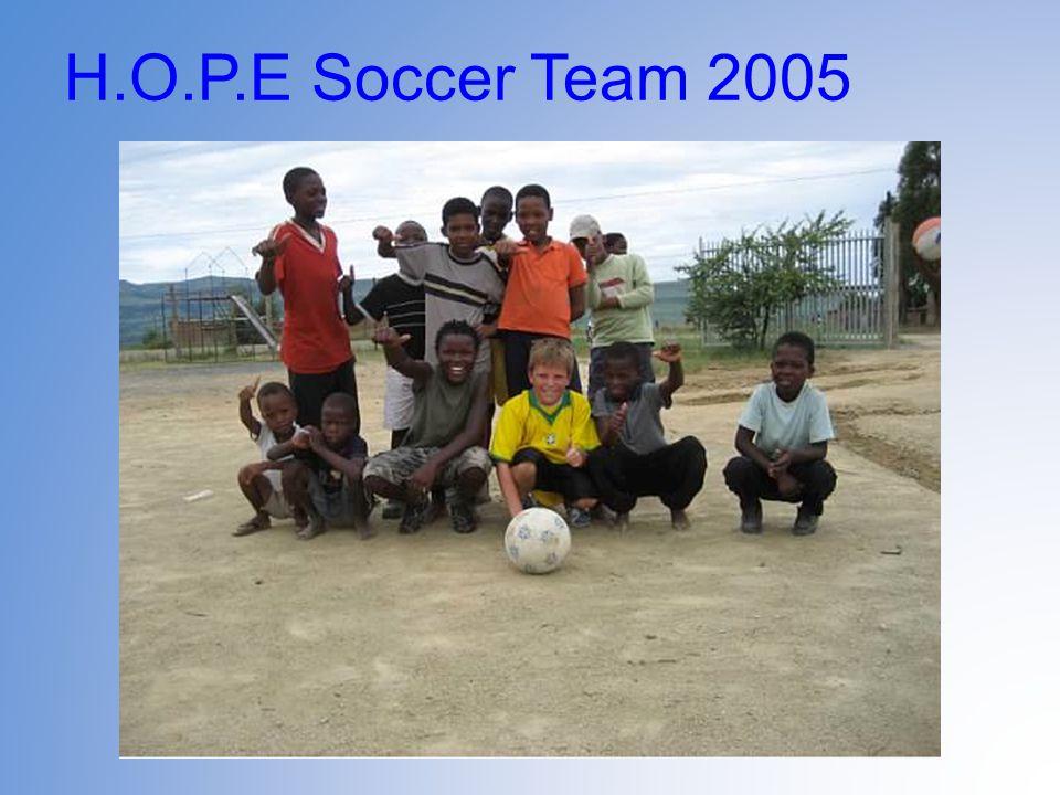 H.O.P.E Soccer Team 2005