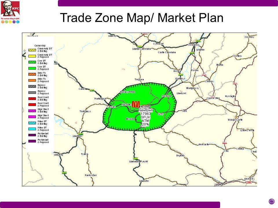 Trade Zone Map/ Market Plan